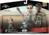 2 Figurine Rey & Finn StarWars The Force Awakens Disney Infinity