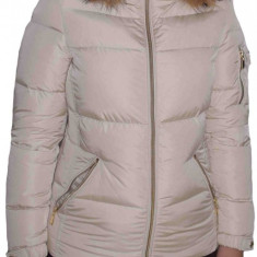 Jacheta textil dama, din poliamida, Geox, W8425P-F1477-52-06, crem