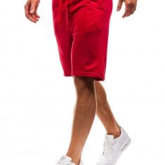 Pantaloni de trening scurți roșu Bolf KK301