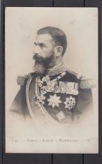 Carte Postala - Regele Carol Romania foto