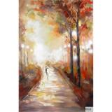 New York- pictura in ulei OP-4, Peisaje, Realism