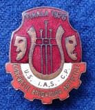 Insigna Festival Concurs Brigazi artistice FINALIST 1976 -  EVIDENTIAT