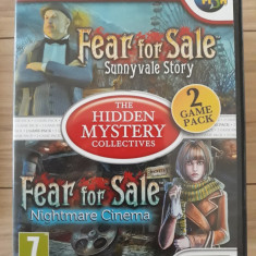 The hidden Mystery collectives - Fear for sale 2&3  -  PC DVD-ROM