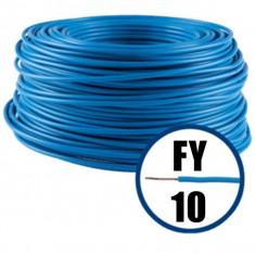 Cablu electric FY 10 – 100 M – H07V-U – albastru