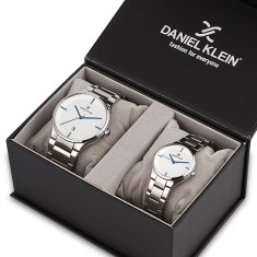 Set ceasuri pentru dama si barbati, Daniel Klein Pair, DK11784-6P
