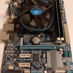 Kit socket 1155 Gigabyte GA-H61M-DS2+Intel Pentium G645 2.90Ghz Sandy+4Gb RAM