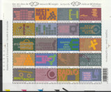 Turul a 20 de secole in timbre 2002,Belgia., Nestampilat