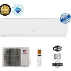 Aparat de aer conditionat Gree Muse GWH24AFD-K6DNA1A, 24000 BTU, Clasa energetica A++/A+, Wi-Fi, Inverter +, Generator Cold Plasma (Alb)