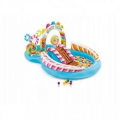 Piscina Gonflabila pentru Copii cu Tobogan - Candy