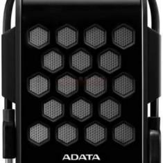 HDD Extern A-DATA HD720, 2.5inch, 2TB, USB 3.0, rezistent la apa si socuri (Negru)
