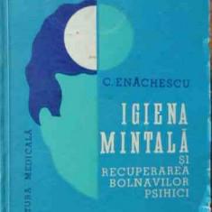 Igiena Mintala Si Recuperarea Bolnavilor Psihici - C. Enachescu ,526463