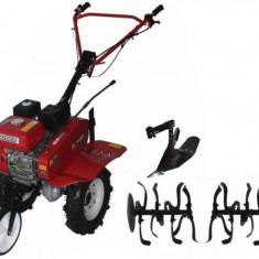 Motosapatoare pe benzina 7 CP 3 viteze cu accesorii Raider Power Tools