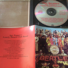 beatles sgt pepper's lonely hearts club band album cd disc muzica pop rock 1967