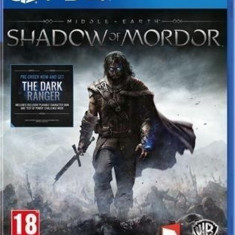 Joc PS4 Middle Earth Shadow Of Mordor - A