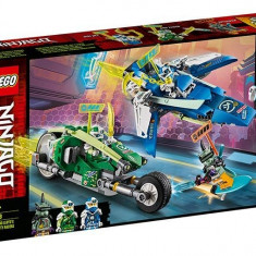 LEGO Ninjago - Masinile de curse ale lui Jay si Lloyd 71709
