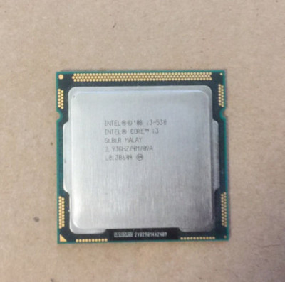 Procesor intel i3-530 socket 1156 2.93Ghz foto