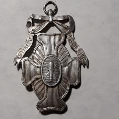 MEDALIE ARGINT SPANIA 1910 - CENTENAR REZISTENTA SPANIA RAZBOI CU NAPOLEON 1810
