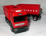 Herpa IVECO Eurotech container cu remorca DANNINGER 1:87