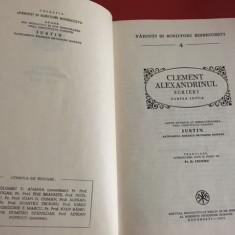 CLEMENT ALEXANDRINUL, SCRIERI I ( PSB 4)- PEDAGOGUL, CATRE ELINI( PROTREPTICUL)