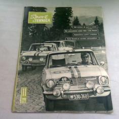 REVISTA SPORT SI TEHNICA NR.11/1965