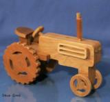 """jucarie lemn """"tractor"""""""