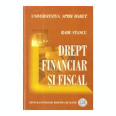 DREPT FINANCIAR SI FISCAL - RADU STANCU