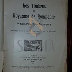 GEORGE BRUNEL - LES TIMBRES DU ROYAUME DE ROUMANIE - MOLDO-VALACHIE-ROUMANIE, 1913