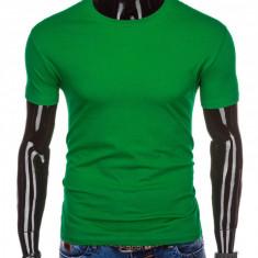 Tricou barbati, bumbac - S970-verde