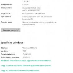 Desktop + Monitor + Accesori ( ACER )