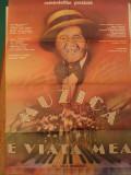 Afis mare (58x82cm) Romaniafilm prezinta: Dragostea e viata mea, Gica Petrescu