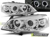 Faruri compatibile cu Opel ASTRA G 09.97-02.04 ANGEL EYES Crom