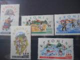 1960  LP 506  SPORT PENTRU COPII LA SATE, Nestampilat