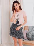 Cumpara ieftin Tricou femei SLR010 - roz, L, M, S, XL