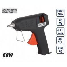 Pistol de lipit cu silicon 60W, Raider RD-GLG02