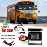 Camera Mers Inapoi Cu 18 LED-uri Wireless Pt Camion Bus Camper Suv - 42