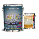 "Email Epoxidic Bicomponent ""EMEX"", Gri, Bidon 20 KG, Intaritor inclus"