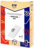 Sac aspirator KARCHER 2201, hartie, 3X saci, KM, K&m