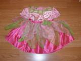 costum carnaval serbare zana floare pentru copii de 1-2 ani 18 luni