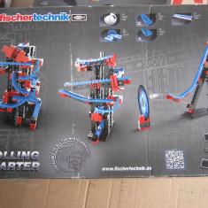 Joc lego Fischertechnik rolling starter de constructii