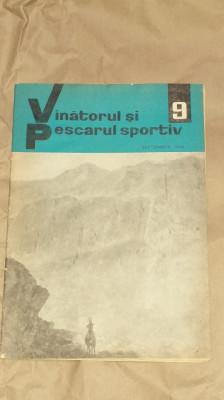 REVISTA VANATORUL SI PESCARUL SPORTIV         Nr.9, Septembrie 1966 foto