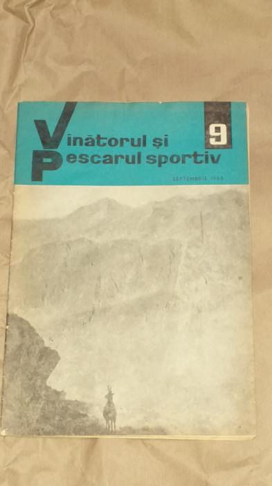 REVISTA VANATORUL SI PESCARUL SPORTIV         Nr.9, Septembrie 1966