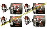 Set 4 Mulinete Mifine Swift Red 3000F Nylon Cadou Culoare Rosie Rulmenti 3, Baitrunner