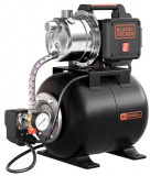 Hidrofor Black&Decker BXGP800XBE, 800 W, 8 m, 19 L, 58.3 L/Min, Monofazat, Black + Decker