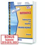 MATEMATICĂ, Probleme și teste pentru clasa a VIII-a și EVALUAREA NAȚIONALĂ, Semestrul I