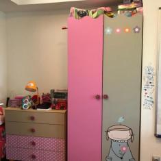 Set mobila copii - camera fetite