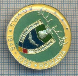 AX 164 INSIGNA VANATOARE SI PESCUIT SPORTIV PERIOADA RSR -A.G.V.P.S -1948-1988