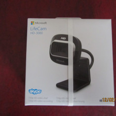 Camera web  webcam Microsoft Life Cam HD 3000, noua, sigilata