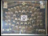 Foto veche promotia 1939 Liceul Al. Papiu-Larian Targu-Mures