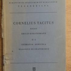 Tacitus - Germania, agricola dialogus de oratoribus (text latin Teubner 1930)