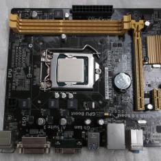 Kit Placa de baza ASUS H81M-K + Intel Core i3 4170 + cooler stock